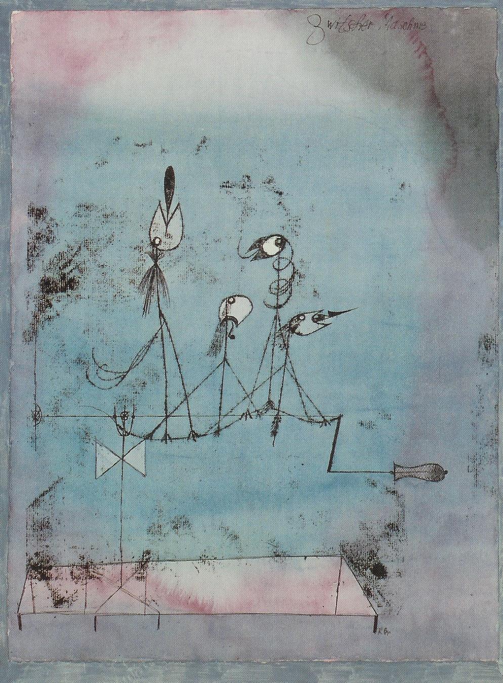 Paul Klee - Zwitschermaschine
